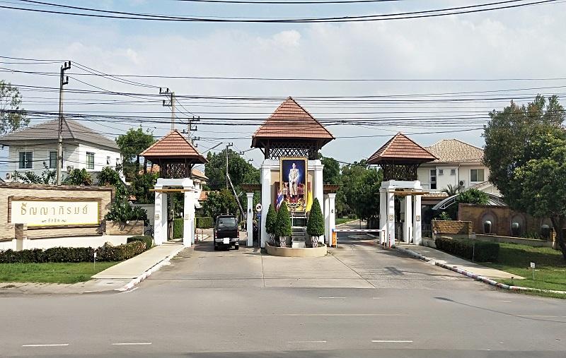 タイ田舎のムーバーン