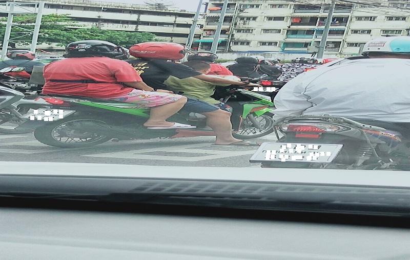 バンコクの道路