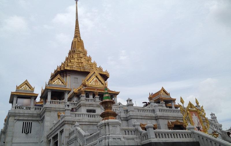 バンコクのお寺