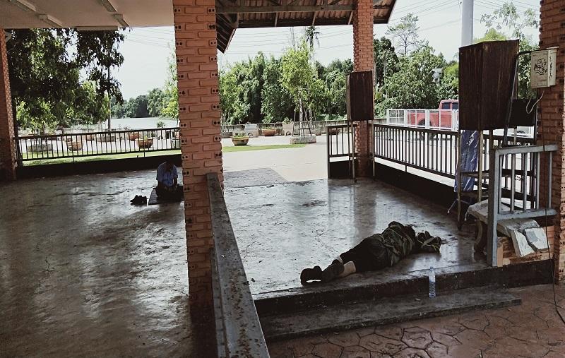 タイの東屋