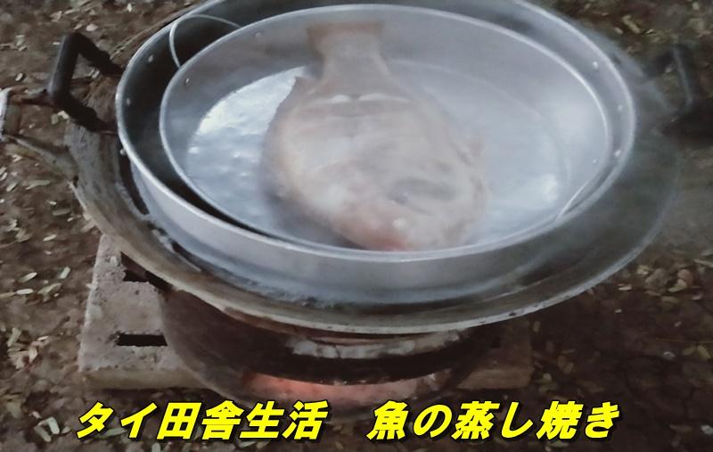 魚の蒸し焼き