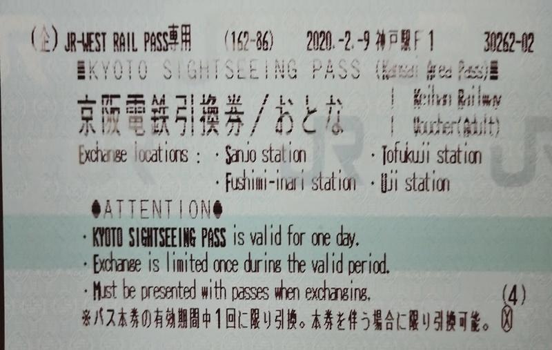 JRの切符