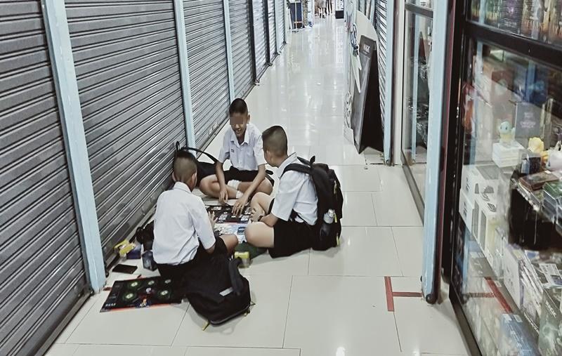 タイの小学生